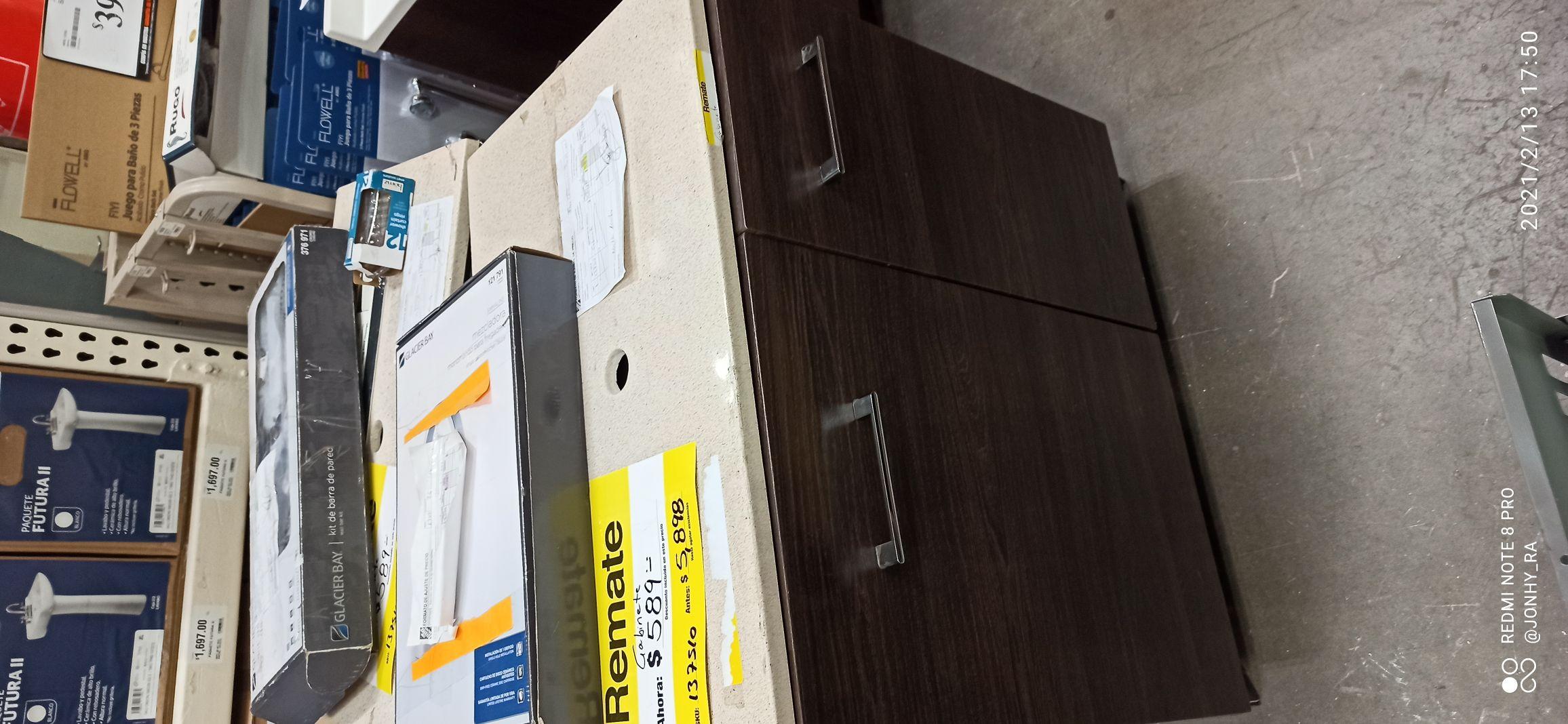 Home Depot: Remate lavabo de 5900 a 589