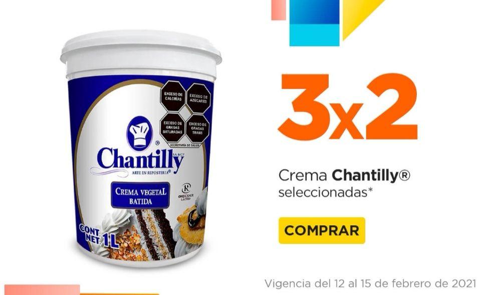 Chedraui: 3 x 2 en productos seleccionados de la marca Chantilly