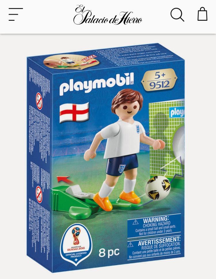 El Palacio de Hierro: Playmobil jugador futbol