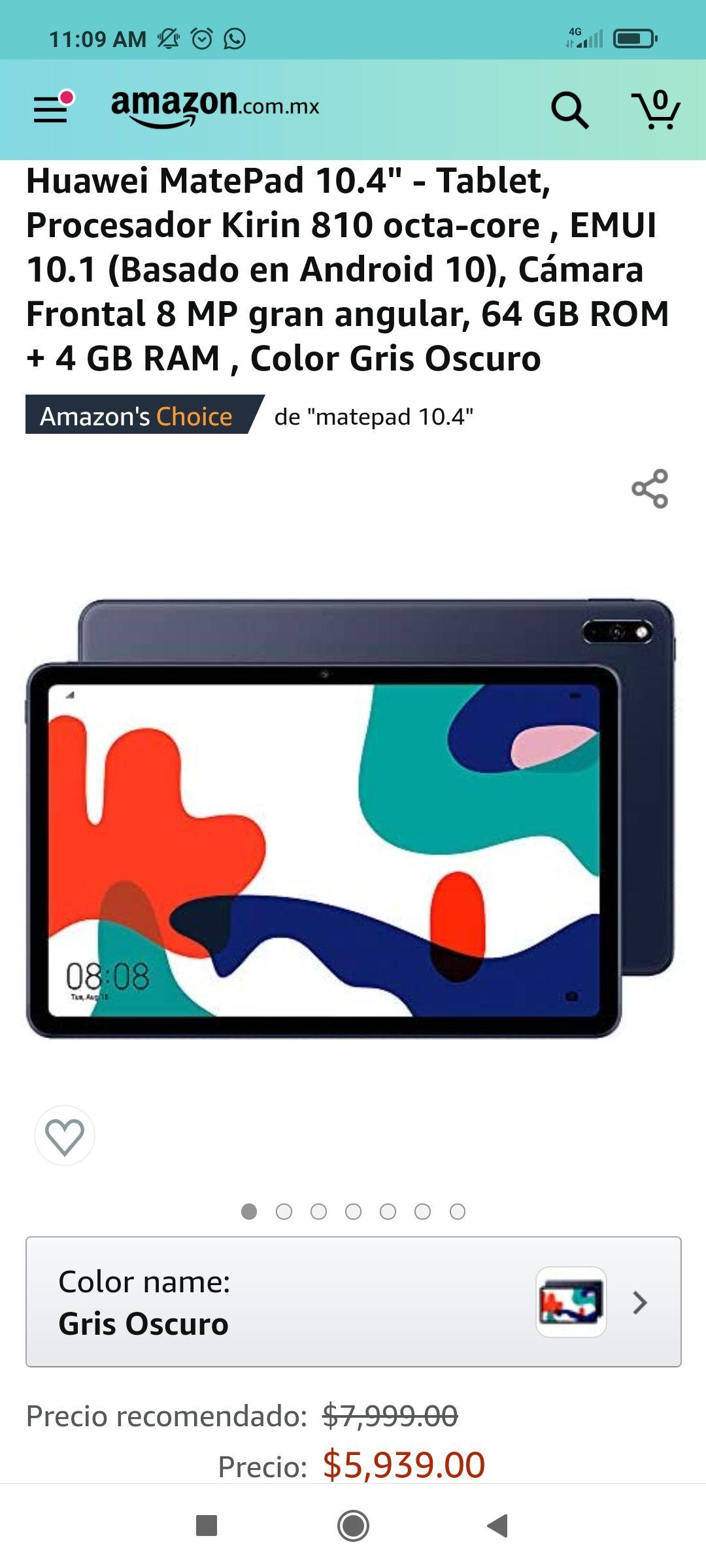 Amazon: Huawei Matepad 10.4