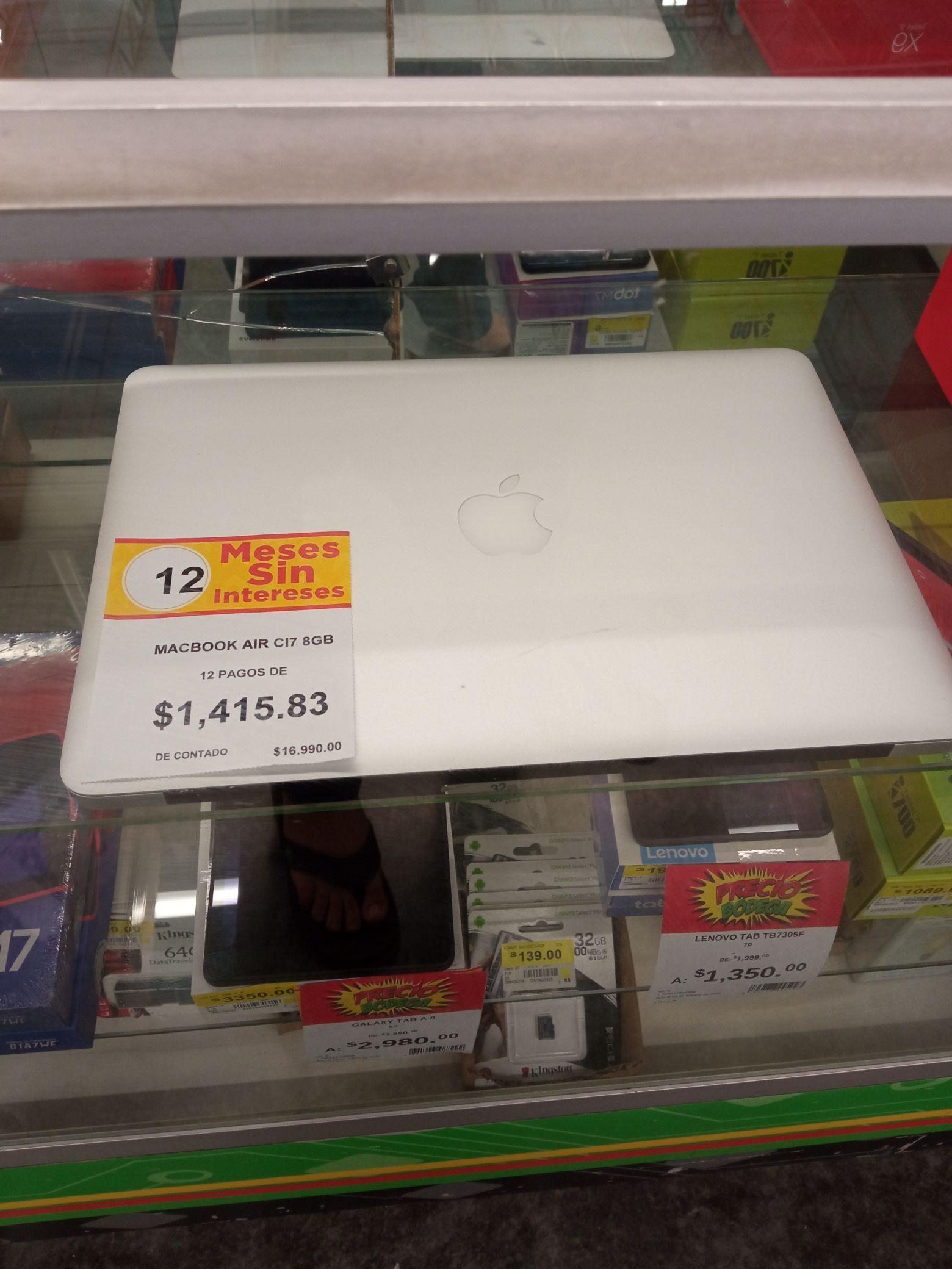 Walmart Mérida: MacBook Core i7 8 GB RAM