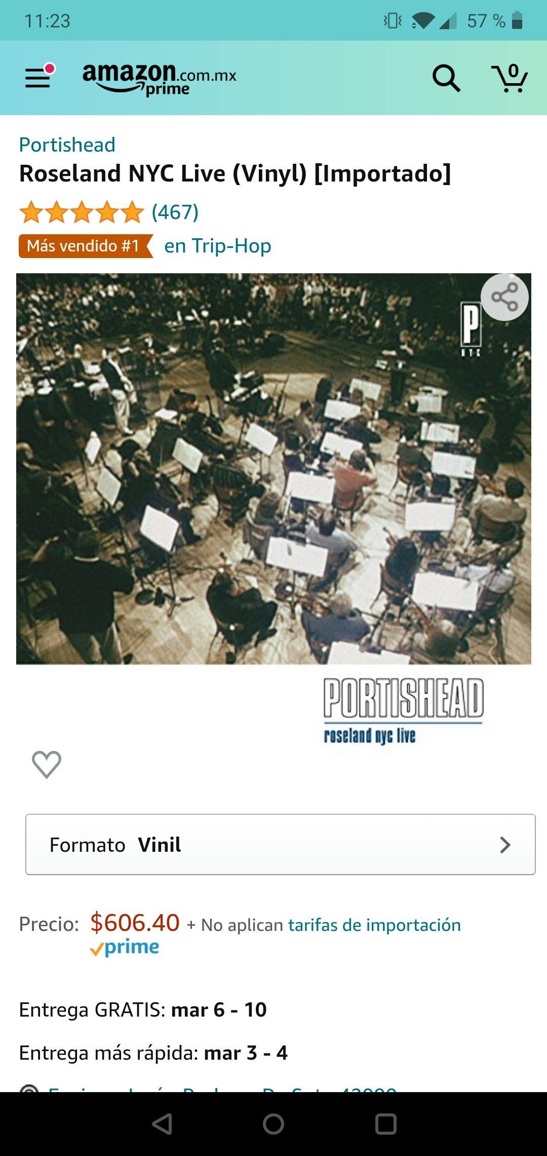 Amazon: Portishead live in roseland vinyl