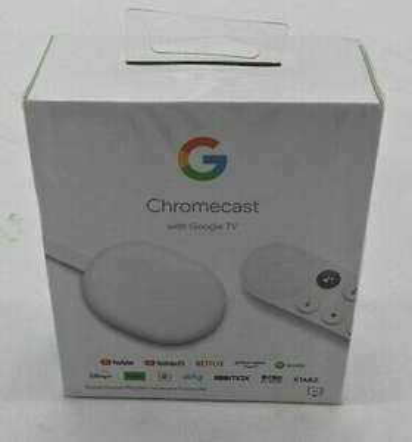 ebay: Chromecast con Google TV