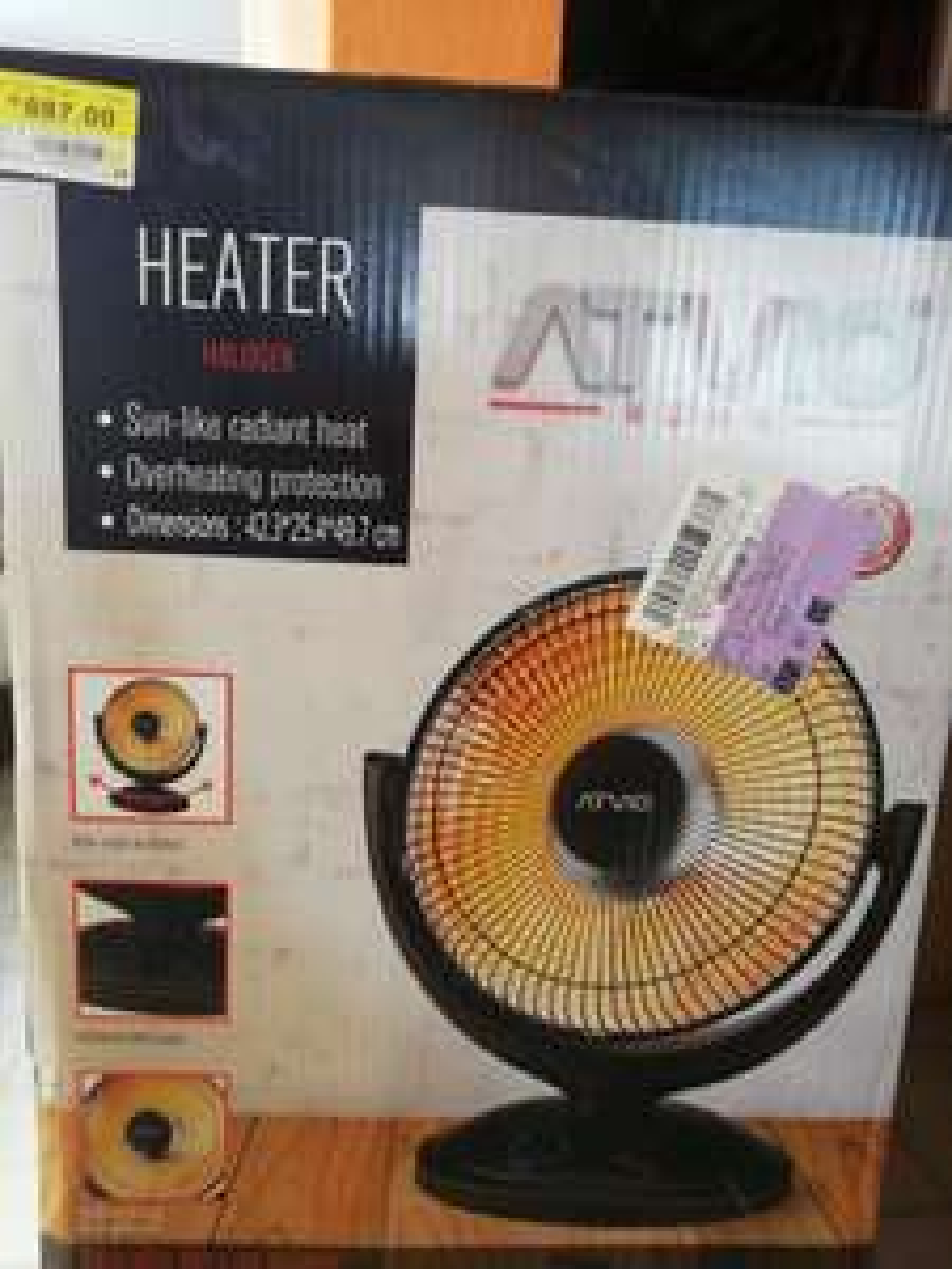 Walmart: Calefactor ATVIO