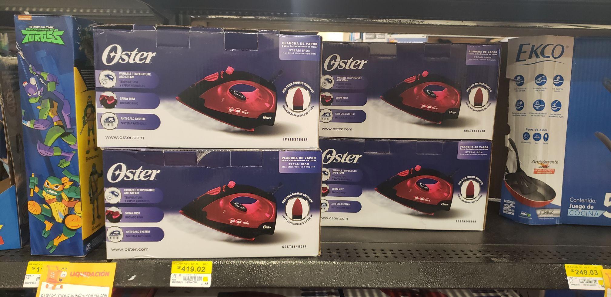 Plancha Oster Líquidacion Walmart