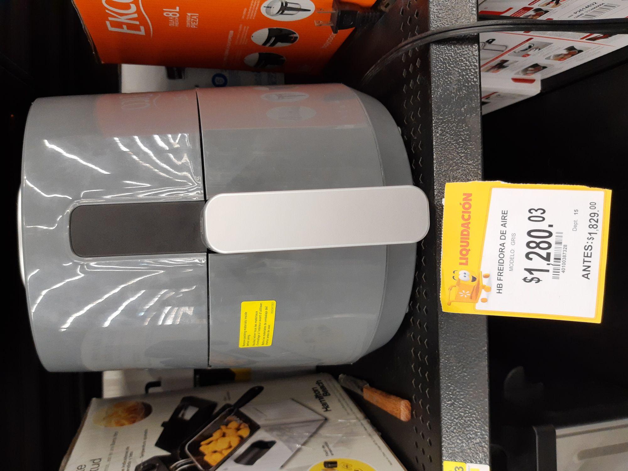 Walmart: Freidora de aire Hamilton Beach 6 L