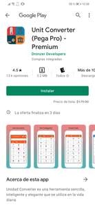 Google Play: Unit Converter pro