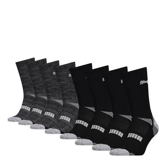 Costco: Puma, calcetines (Unitalla) (8 pares) (varios colores)