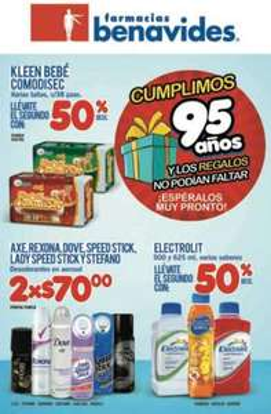Folleto Farmacias Benavides: 30% de descuento en cosméticos L'Oréal, productos Nair y más