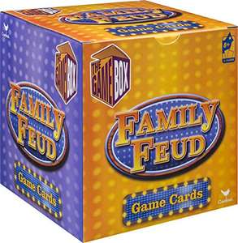 Amazon: Family Feud Trivia Box Card Game