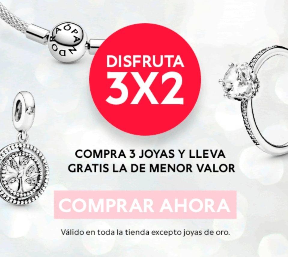 Pandora: 3x2 y Joyero de Regalo