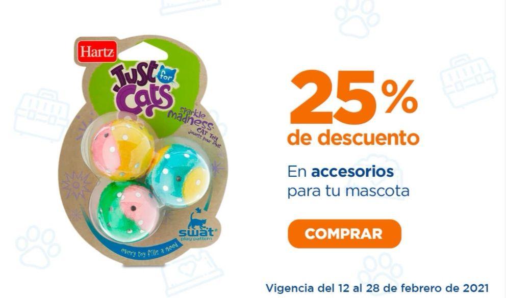 Chedraui: 25% de descuento en accesorios para mascotas
