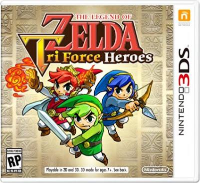 Mixup en linea y tienda: TLoZ Triforce Heroes y mas juegos