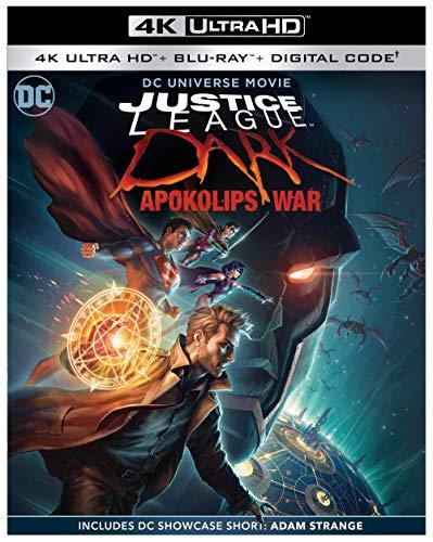 Amazon: Justice League Dark: Apokolips War 4K Blu-ray