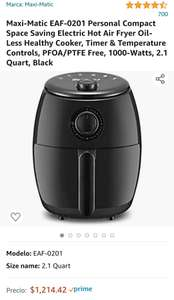 Amazon: Maxi-Matic EAF-0201 Personal Compact Space Saving Electric Hot Air Fryer Freidora de Aire