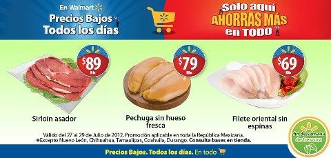 Fin de semana de frescura Walmart julio 27: filete oriental $69 y más