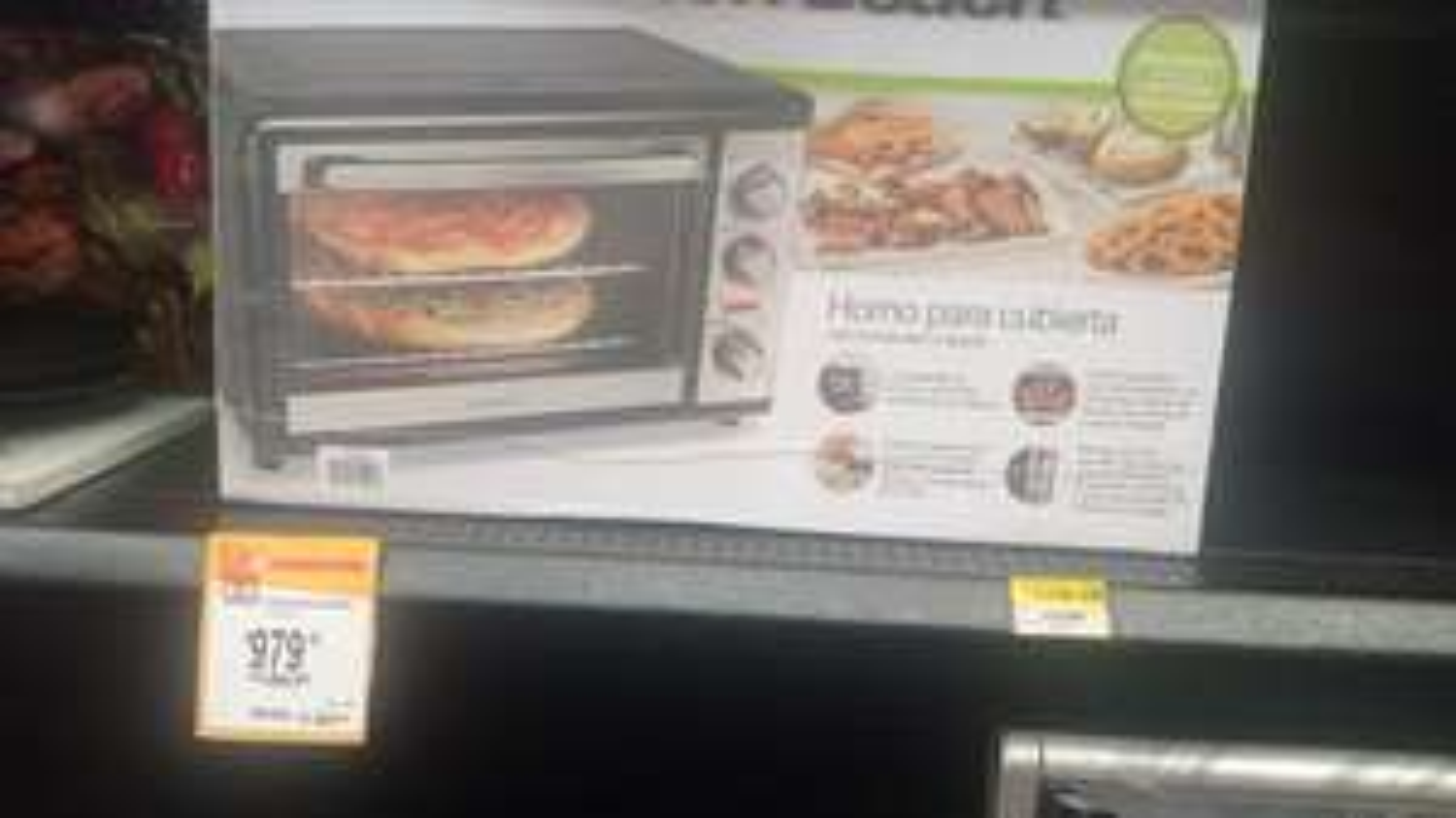Walmart Irapuato: Horno eléctrico
