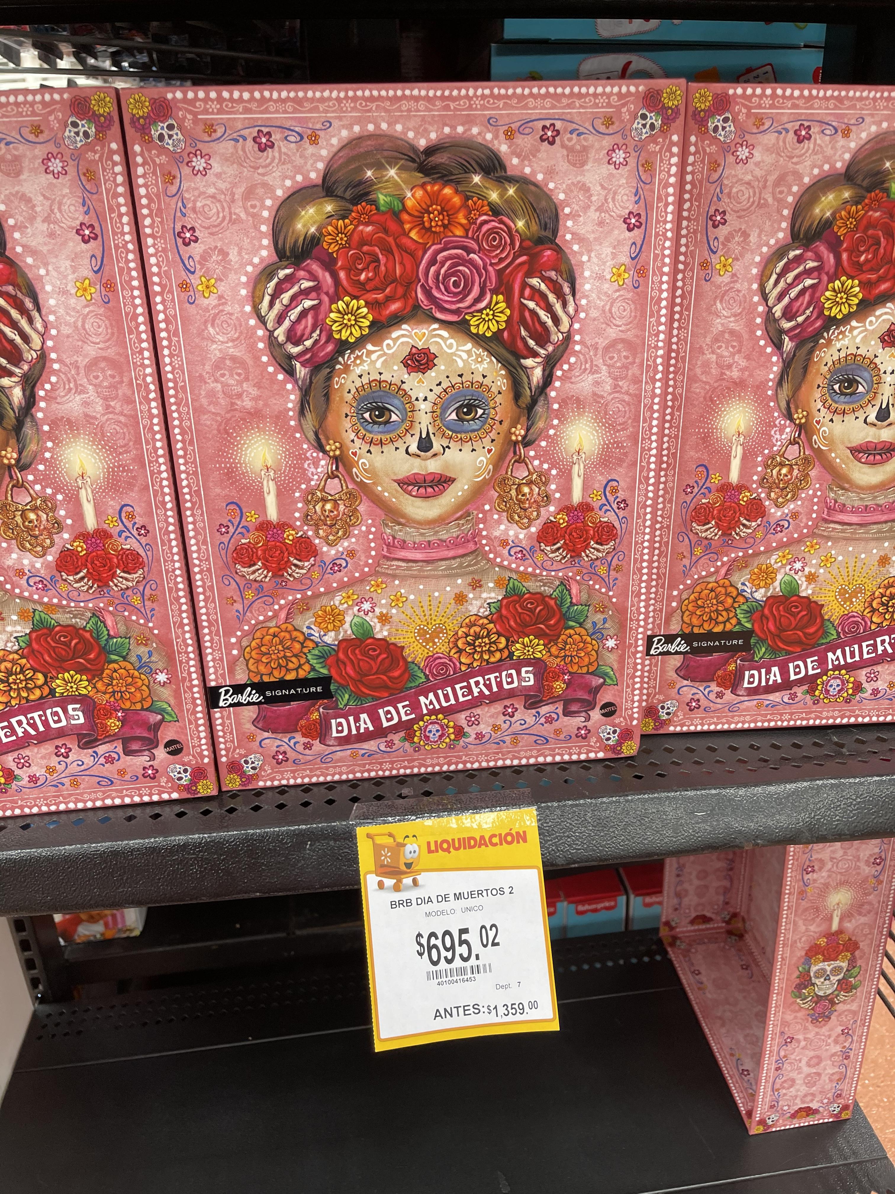 Walmart: Barbie Día de Muertos 2020 - Segunda Liquidación