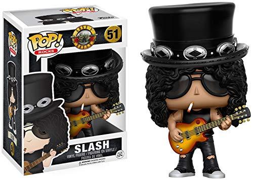 Amazon: Funko Pop Rocks Slash - Figura Coleccionable