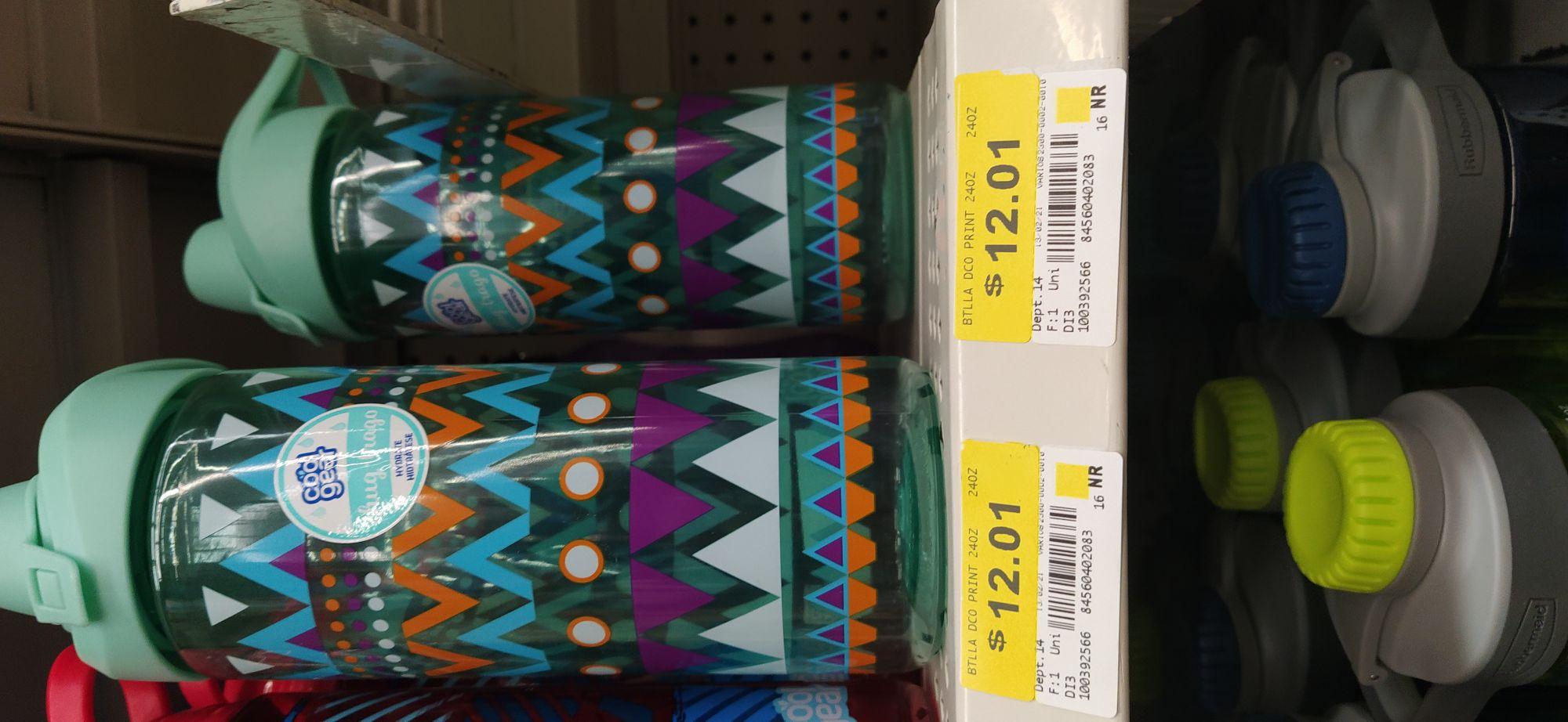 Botella para agua en su última liquidación Walmart unidad
