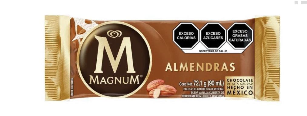 Wallmart; magnum Almendras 3 x $69