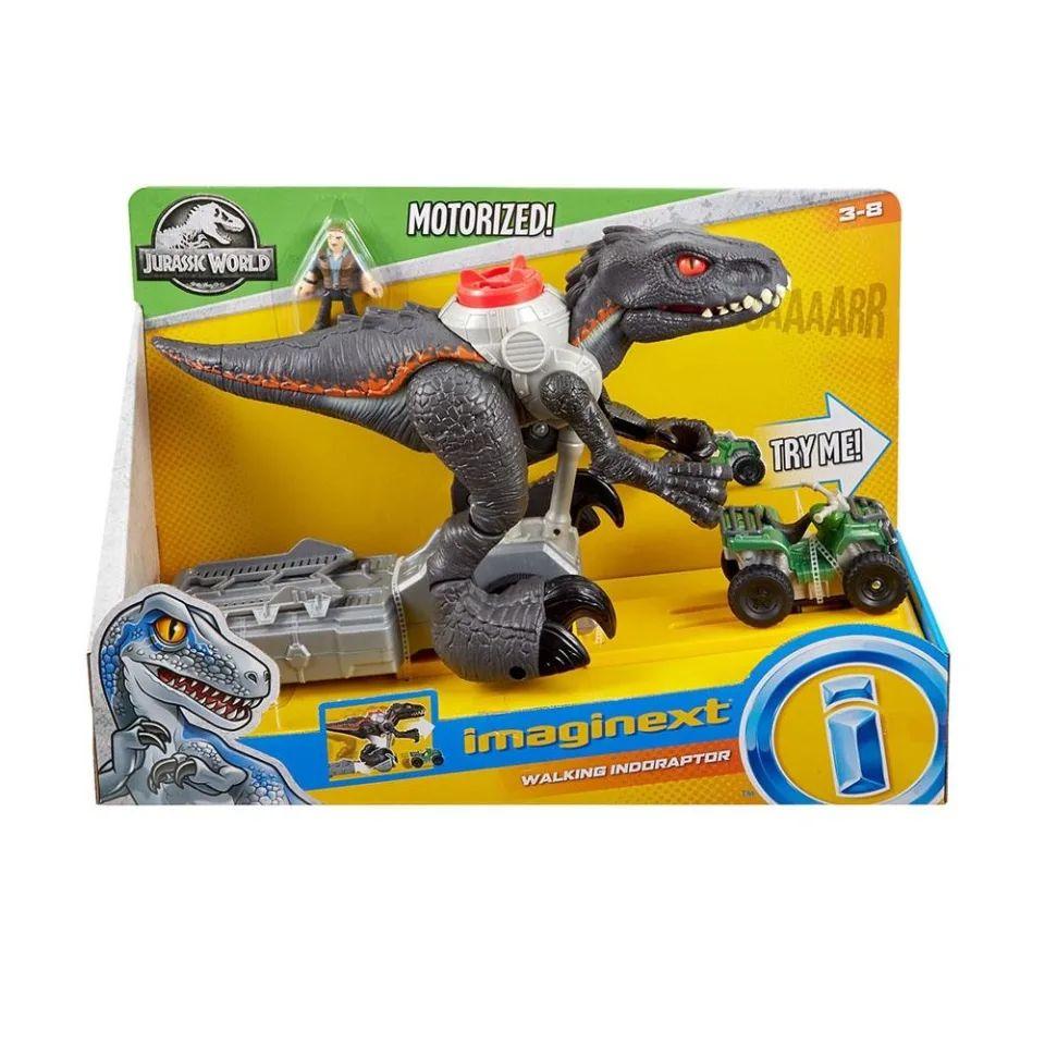 Walmart: Indoraptor motorizado imaginext jurassic world