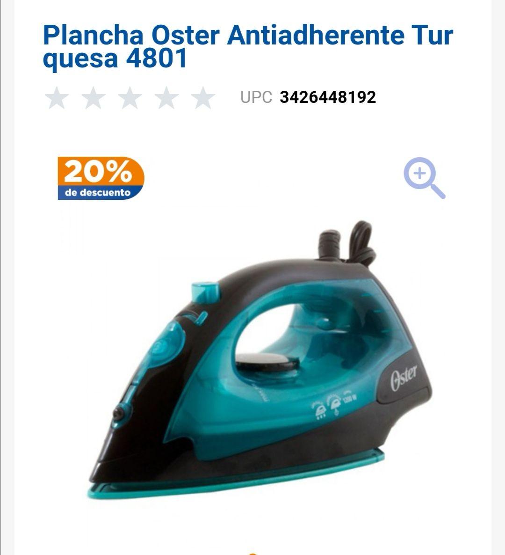 Chedraui: Plancha Oster antihaderene 4801