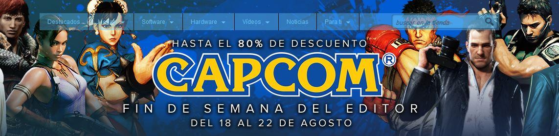 Steam: descuentos en títulos de CAPCOM
