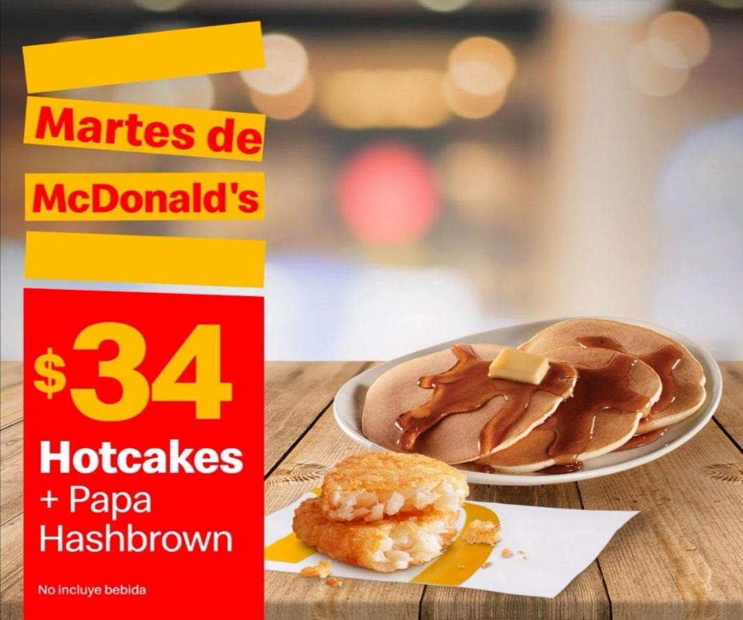 McDonald's: Martes de McDonald's 16 Febrero