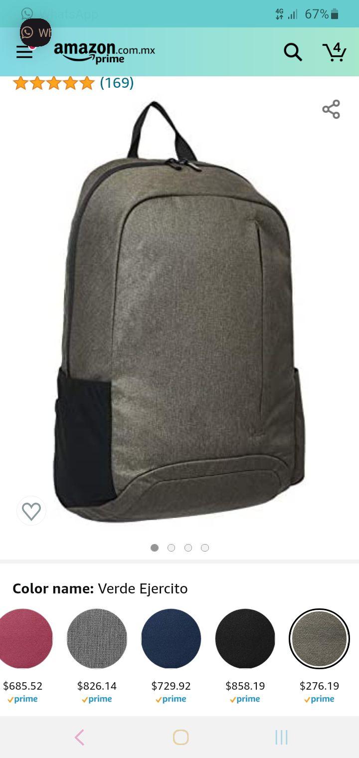 Amazon: mochila para laptop, amazon basics