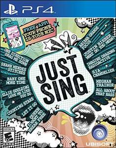 just sing ps4 amazon