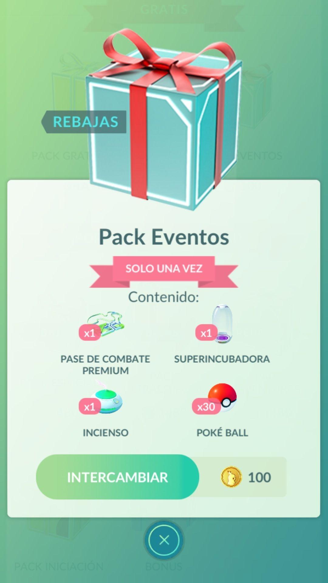 Pokémon: Pack de eventos exclusivo en India por 100 pokemonedas