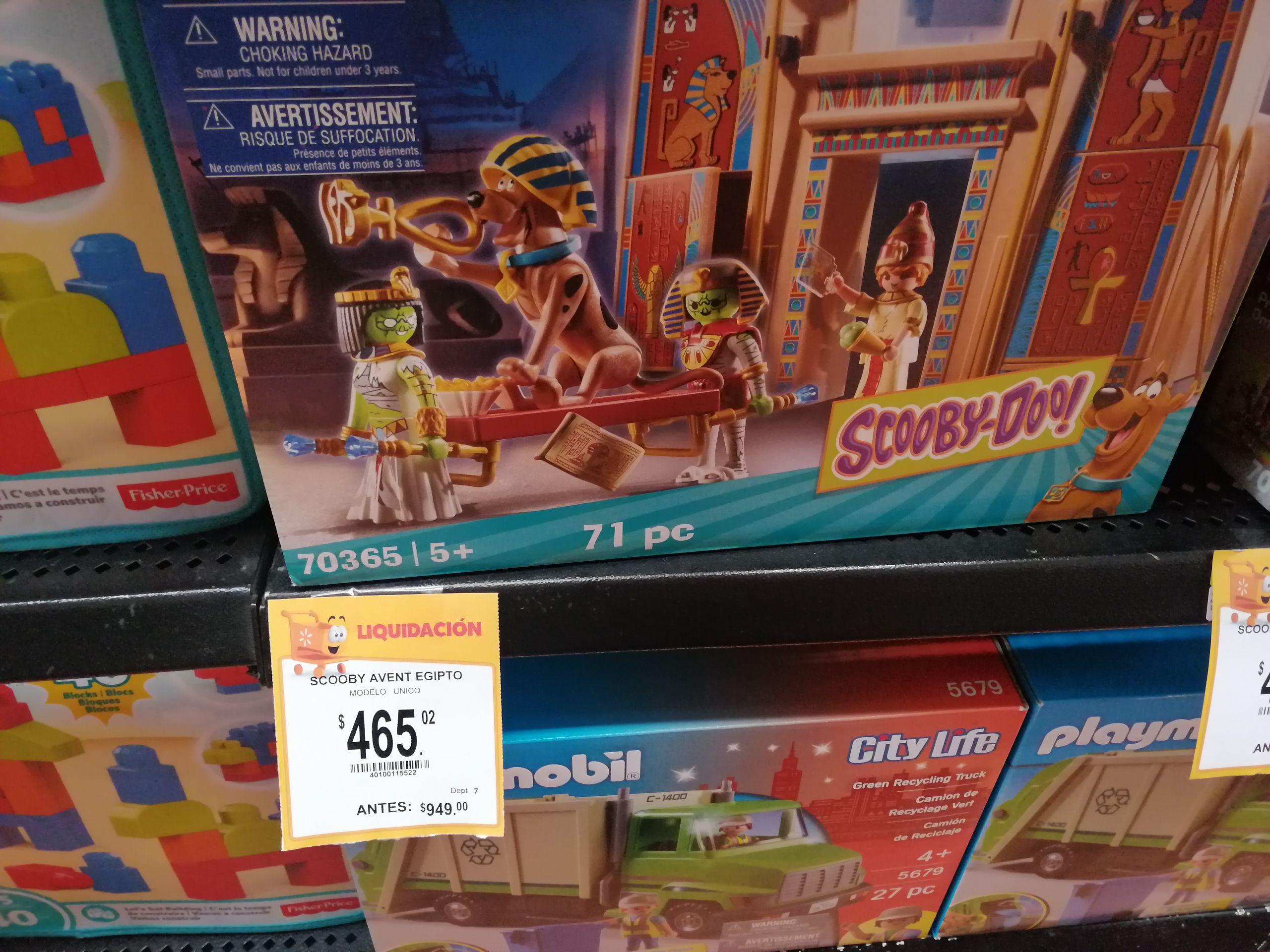 Walmart Pirámide Playmobil Scooby-Doo