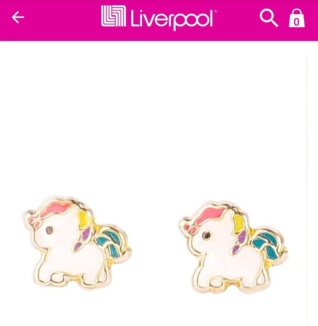 Liverpool: Broquel de unicornio en oro 10k