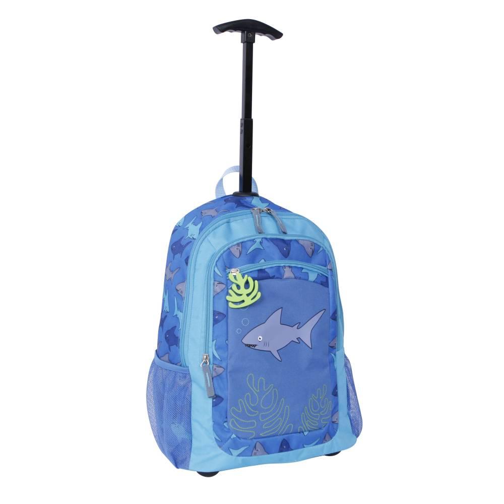 """Walmart en línea: mochila con rueditas 16"""" Protege Carry On Tiburón"""