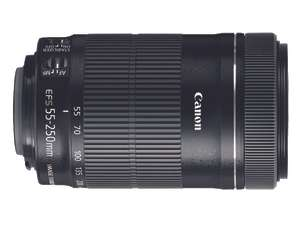 Best Buy: Canon lente EF-S 55-250MM