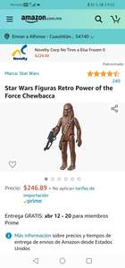 Amazon: Figura Retro Star wars