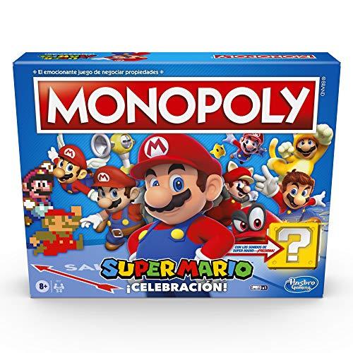 Amazon, Monopoly Super Mario ¡Celebración! Precio más bajo registrado en keepa