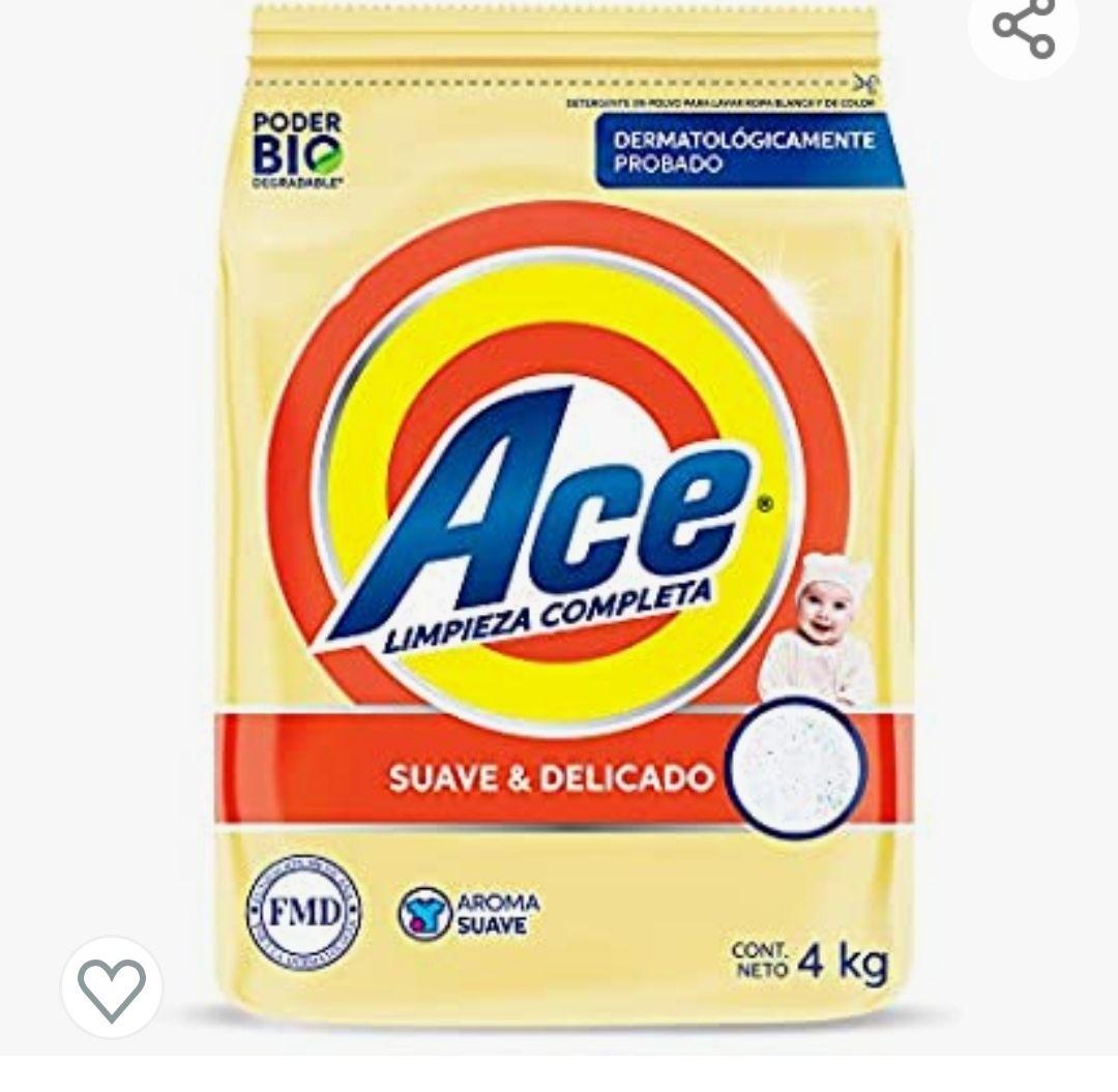 Amazon: Ace suave y delicado 4kg