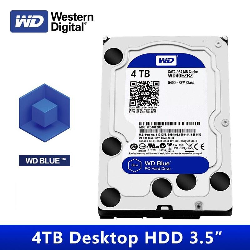 Cyberpuerta: Disco Duro Interno Western Digital Blue 4TB