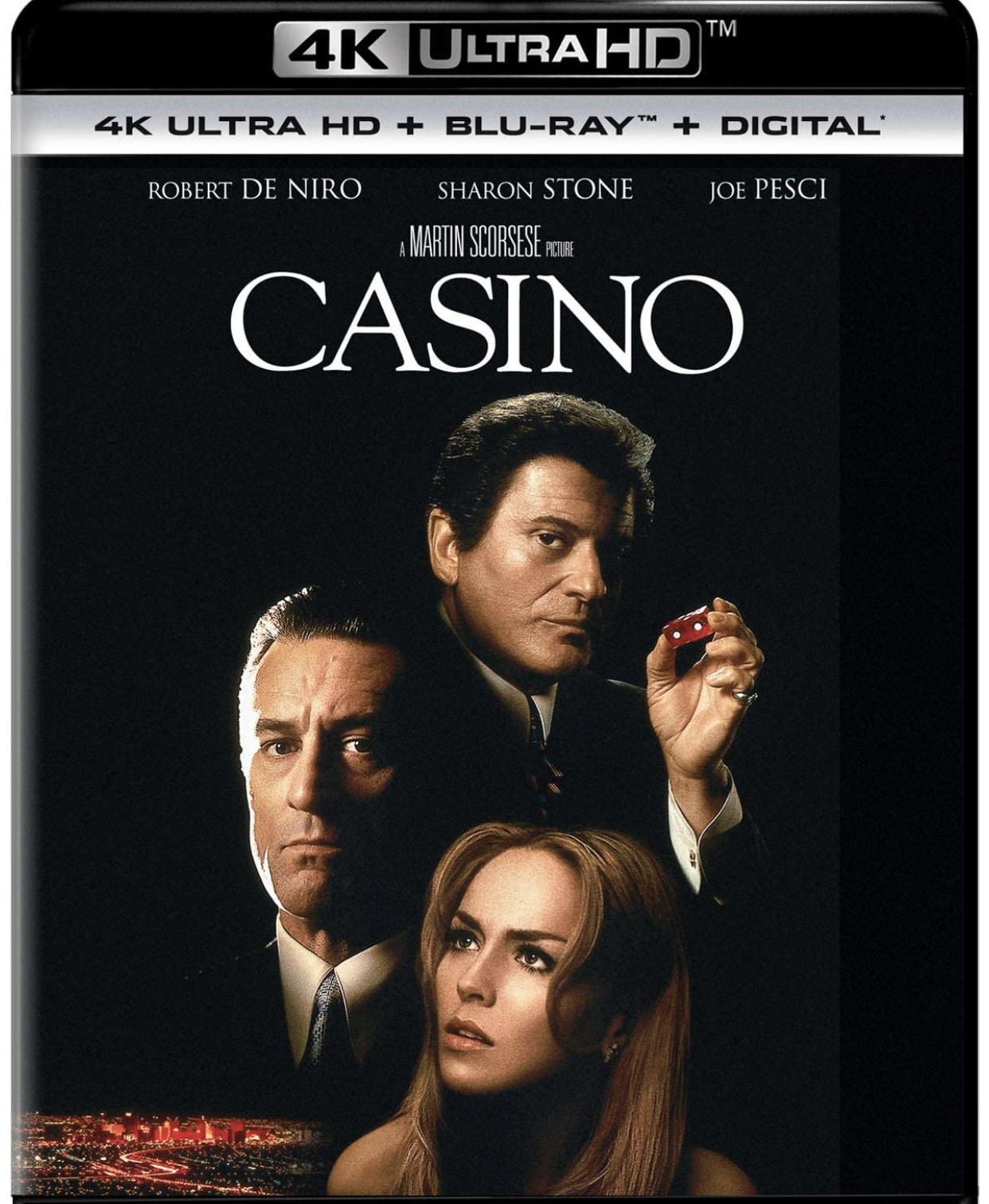Amazon: Casino 4K (Ojo: entrega a partir de abril)