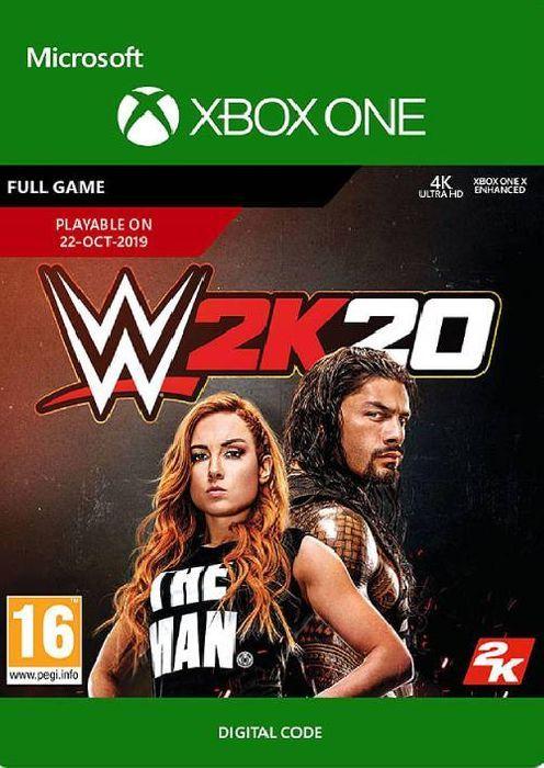 CDKeys: WWE 2K20 xbox one/xbox series s/x (código digital)