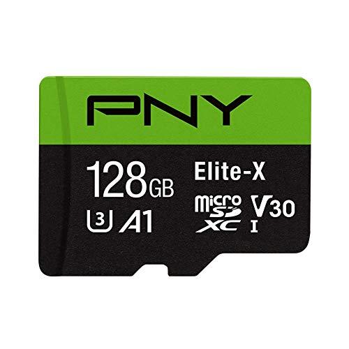 Amazon: PNY Elite-X Micro SD 128GB, U3, V30, A1, Class 10