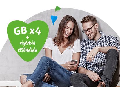 Movistar, Cambiate Movistar Beneficios hasta por 5 meses 6GB por $100 pesos