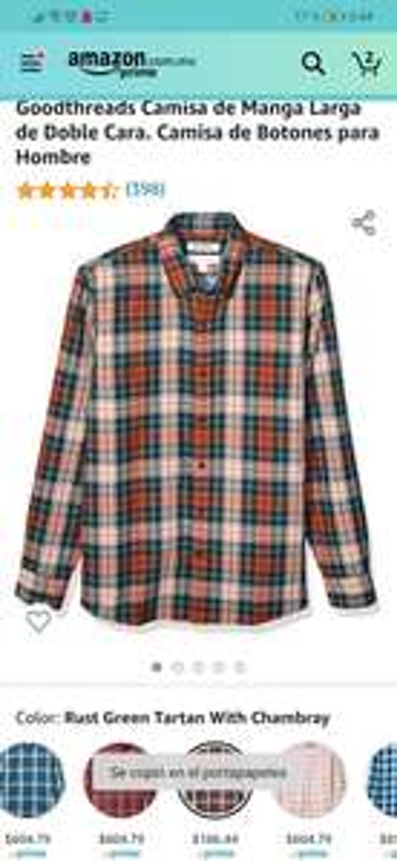 Amazon: Camisa Goodthreads XS