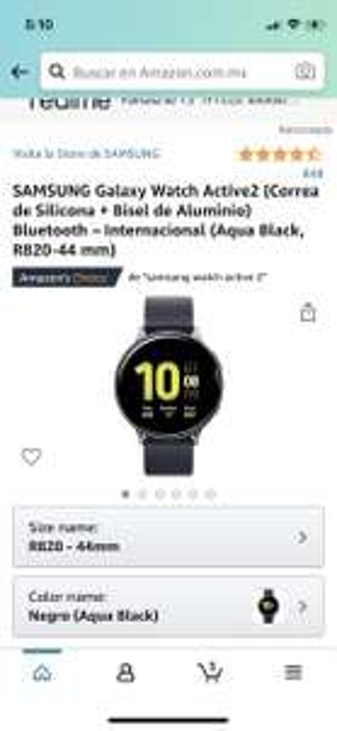 Amazon: Samsung Active 2 44 mm r820