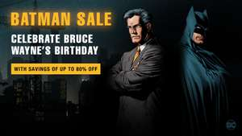Celebra el cumple de Bruce Wayne - Steam