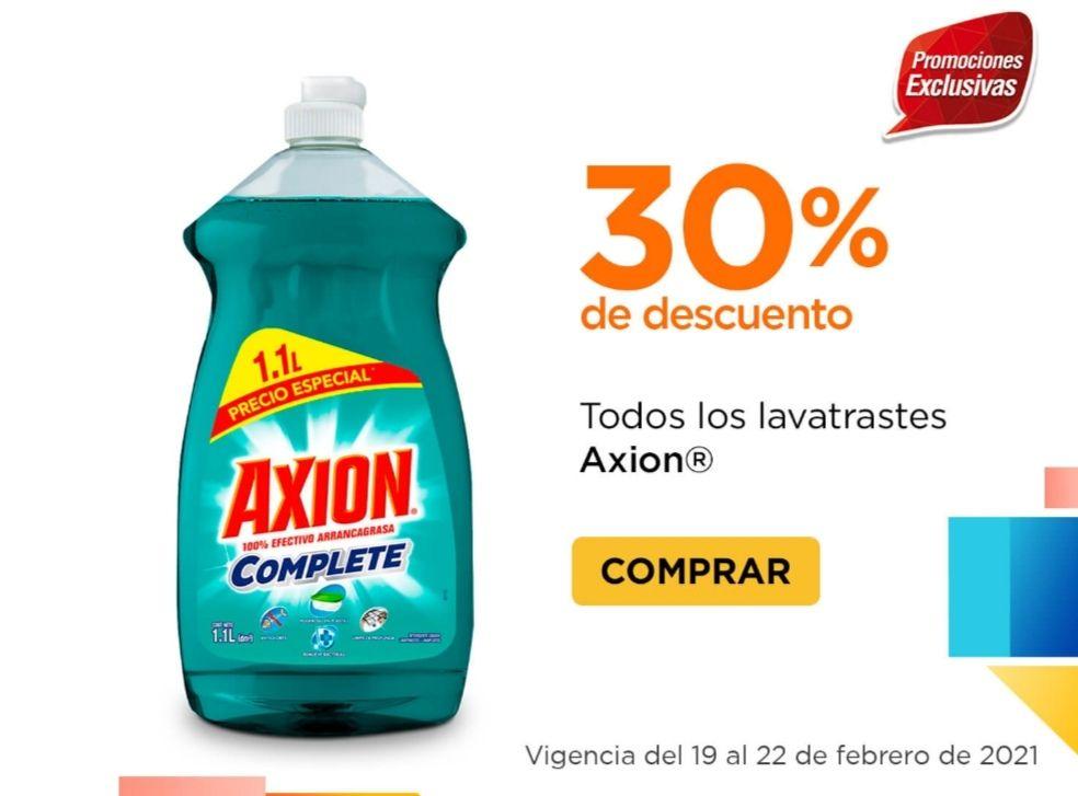 Chedraui: 30% de descuento en todos los lavatrastes Axión