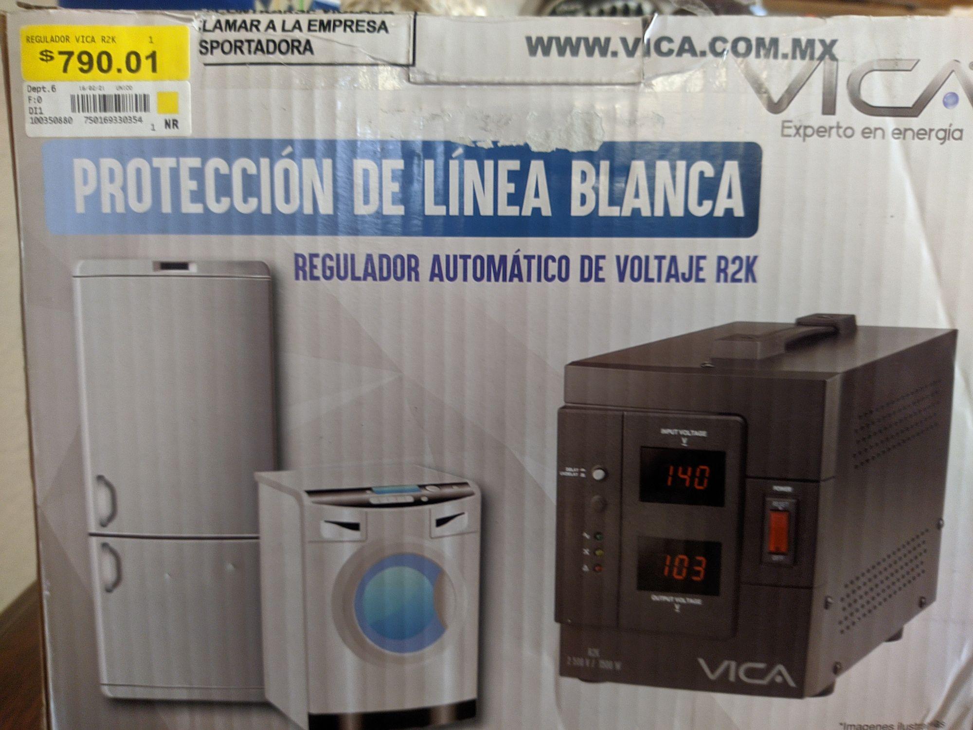 Walmart Regulador Vica para linea blanca en última liquidación