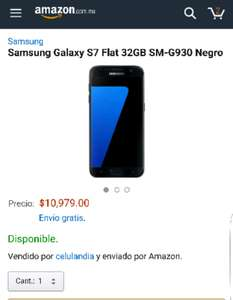 Amazon: Samsung Galaxy S7 Flat 32GB SM-G930